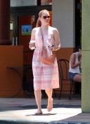 Amy Adams Out For Coffee in Studio City August 6th HQ x 6