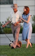 """*ADDS* Emma Stone on the set of """"The Gangster Squad"""", September 20th"""