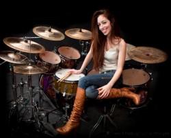 Nude Female Drummer 111