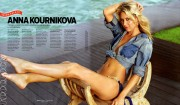Anna Kournikova - �Maxim Salutes The Military� issue