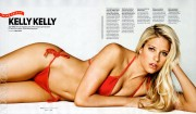 Kelly Kelly  - �Maxim Salutes The Military� issue