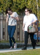 Ali Lohan out & about in LA 12/14/11