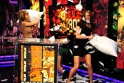 "Candace Bailey & Sara Underwood ""Pillow Fight"" on AOTS 1/09/12"