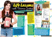 Victoria Justice in Total Girl Magazine