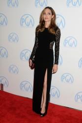 Анджелина Джоли, фото 7443. Angelina Jolie - Producers Guild awards, january 21, foto 7443