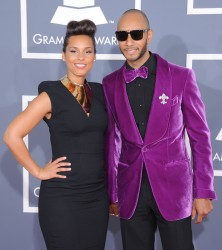 Алиша Киз (Алисия Кис), фото 3050. Alicia Keys 54th annual Grammy Awards - 12/02/2012 - Red Carpet, foto 3050