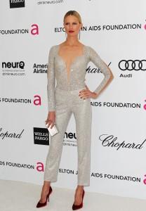 Каролина Куркова, фото 1290. Karolina Kurkova Elton John AIDS Foundation Academy Awards Party in LA, 26.02.2012, foto 1290