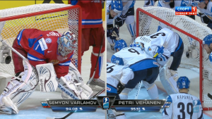 ������. ��������� ����. ���������. ������ - ��������� / Ice Hockey. World Championship. Semifinal. Russia - Finland (2012) 1080i HDTV / 9.08 Gb