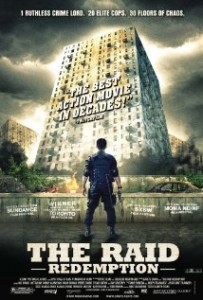 Download The Raid: Redemption (2012) 720p HDRip 800MB Ganool