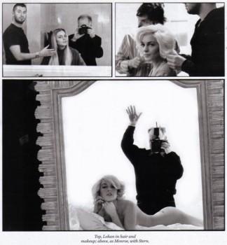 Lindsay Lohan posiert nackt Februar 2008
