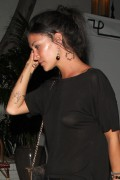 Jessica Szohr - leaving the  Chateau Marmont in West Hollywood 06/28/12