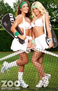 Дейзи Ваттс, фото 130. Daisy Watts & Amy Green - Sexy Wimbledon July 2012 LQ Tags, foto 130