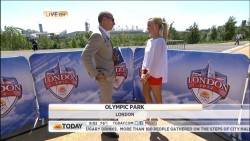 Nastia Liukin - Today Show short interview by Matt Lauer 7/24/12