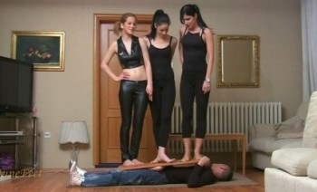 Young Mistresses Alice, Emily and Maggie Femdom Set